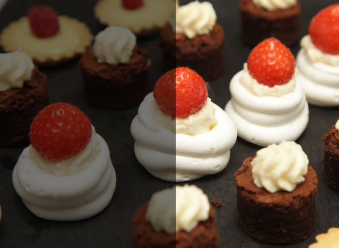 Dessert canapes prestige highland event marquee and for Canape desserts